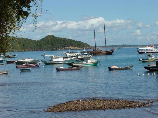 Pousada Gammel Dansk:                   Playa de pescadores, bajada del hotel!