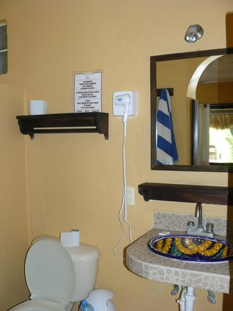 Luna de Plata . Hotel: La salle de bain