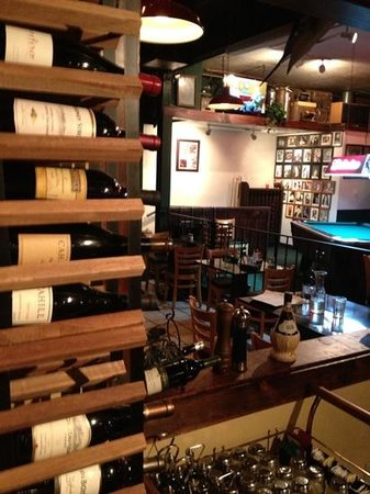 Main Street Bistro:                                     Back Bar