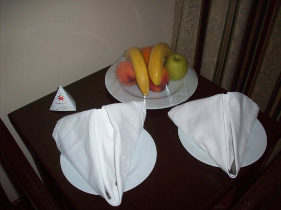 Papillon Ayscha Hotel Resort & Spa:                                     fruit de bienvenue