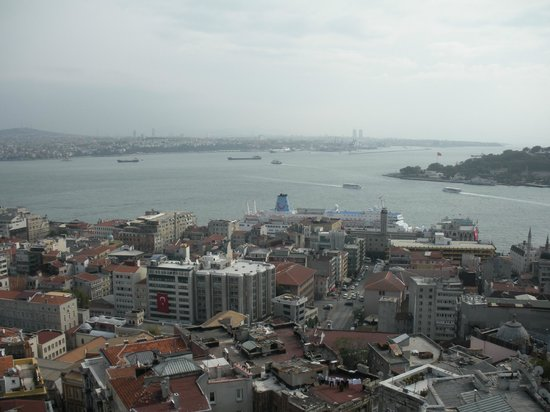 Galata Tower: Vista desde la Torre Galata