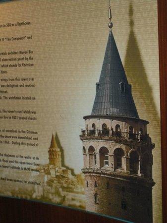 Galata Tower: Dentro
