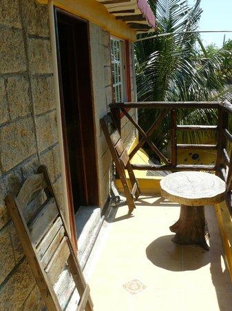 Maison Tulum: Le balcon