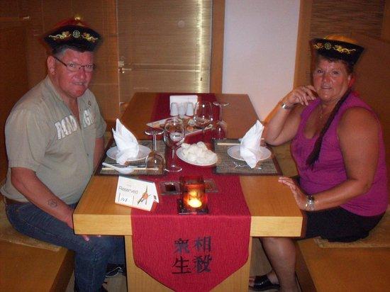 Papillon Ayscha:                                     resto chinois