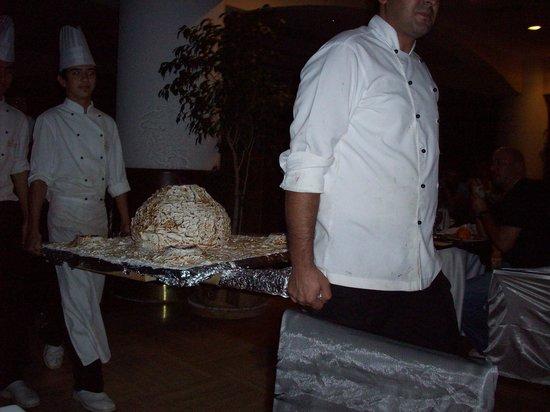Papillon Ayscha:                                     dessert geand