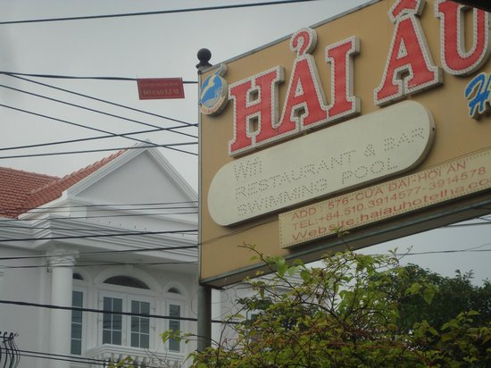 Hai Au Boutique hotel and spa: Hotel