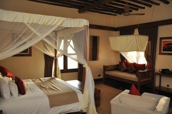 Neptune Ngorongoro Luxury Lodge :                   CHAMBRE