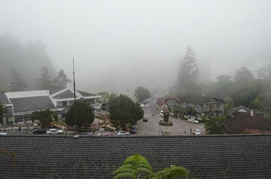 Puncak Inn: View from the top of the hotel