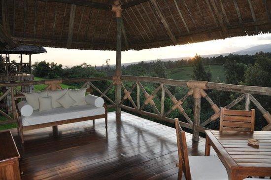Neptune Ngorongoro Luxury Lodge :                   TERRASSE