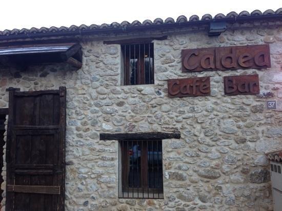 Restaurante Caldea : caldea café bar