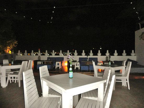 Be Playa Hotel:                   La Terraza