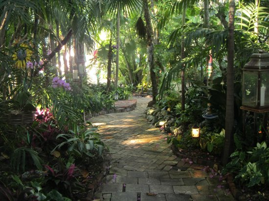 The Gardens Hotel:                                     lovely path in the garden