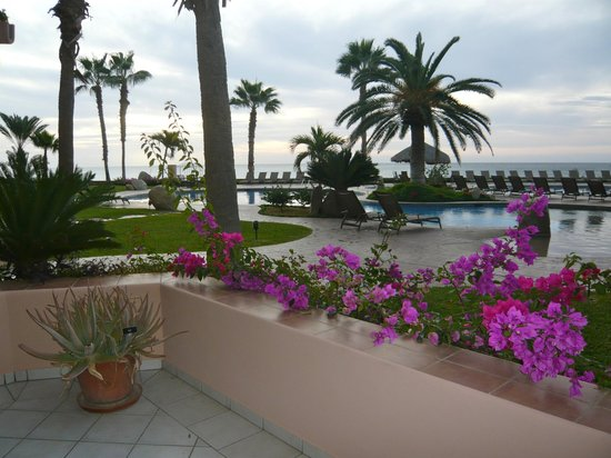 El Zalate Villas:                                     View the morning sunrise from the patio