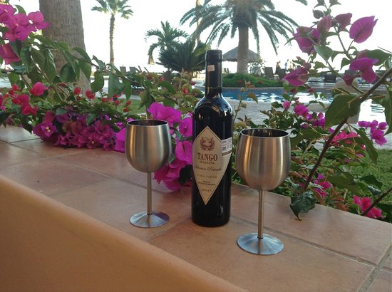 El Zalate Villas:                                     Happy Hour on the Patio