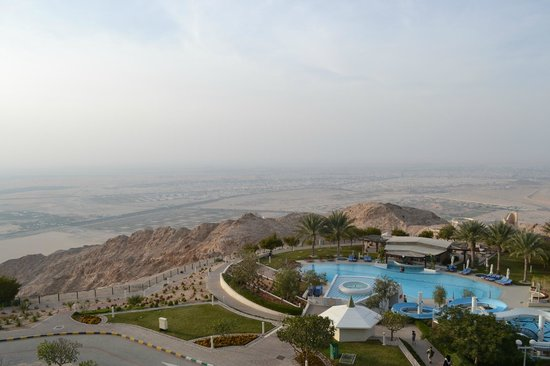 Mercure Grand Jebel Hafeet Al Ain:                   from our room