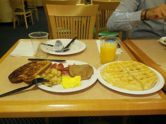 SpringHill Suites Boise ParkCenter:                   breakfast