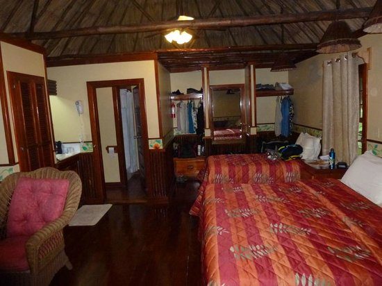 Ramon's Village Resort:                   Inside our room