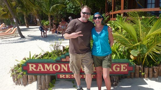 Ramon's Village Resort:                   Divemaster Ricky picture for us