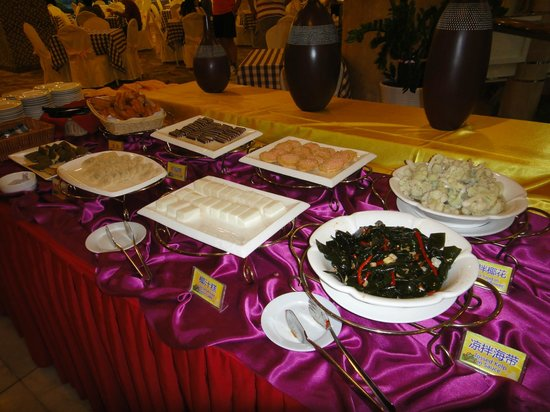 Guilin Park Hotel:                   buffet do café da manhã