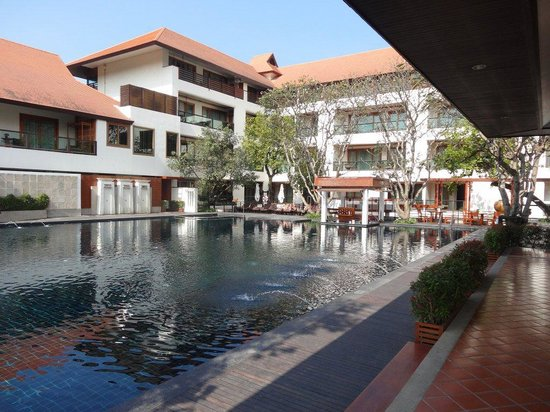Ratilanna Riverside Spa Resort Chiang Mai:                   PISCINE