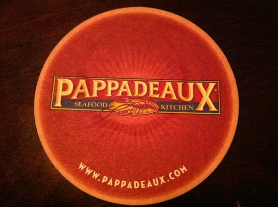 Pappadeaux Seafood Kitchen:                   Porta vasos que colecciono
