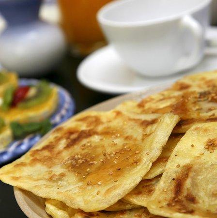 Dar Housnia: petit déjeuner