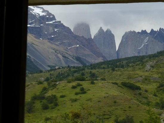 Refugio Torre Central-Torres del Paine: View from the room