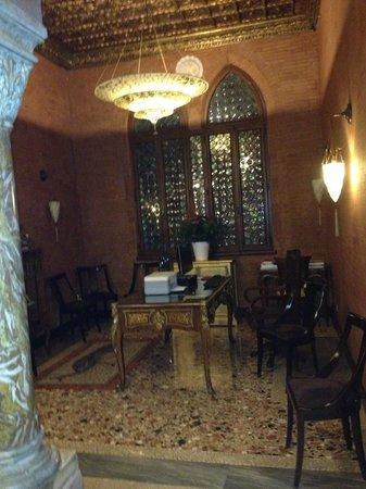 Hotel Palazzo Stern:                   Meeting area