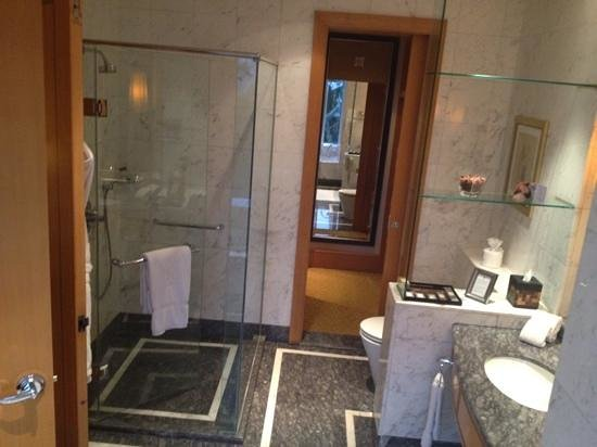 The Ritz-Carlton Jakarta, Mega Kuningan:                   shower