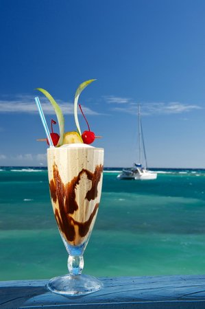 Blackbird Caye Resort : Yummy!