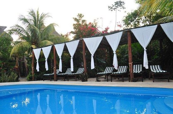 Green Tulum Cabanas & Gardens : Pool