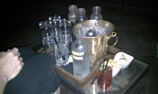 Hard Rock Hotel and Casino:                   bottle service/Wasted Space (miss that club) like the new additions though!