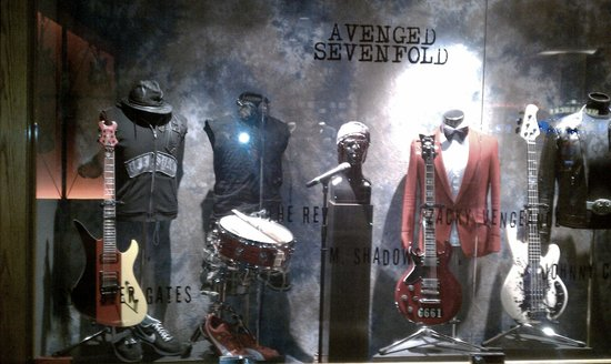 Hard Rock Hotel and Casino:                   A7X Display
