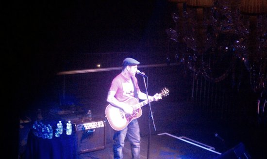 Hard Rock Hotel and Casino:                   Corey Taylor accoustic in Body English