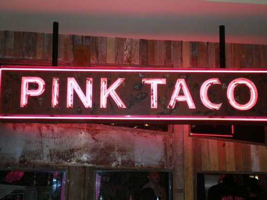 Hard Rock Hotel and Casino :                   Pink Taco