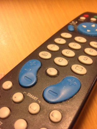 Novotel London Waterloo:                                                       Télécommande TV à l'arrivée
