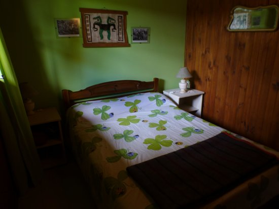 Albergue y Hostal Lago Argentino: Dark room
