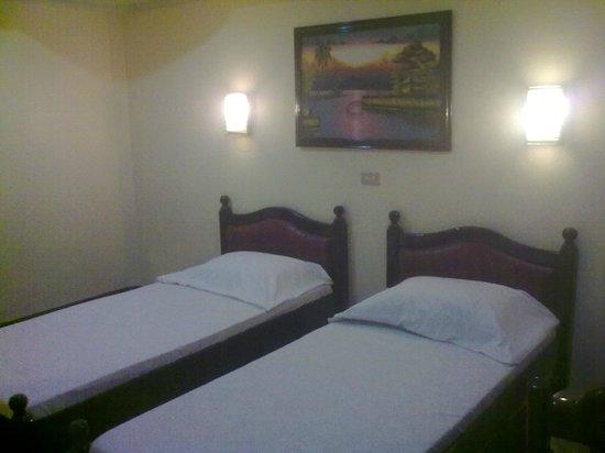 Marju Krisel Hotel & Resort : 2 expandable single beds.