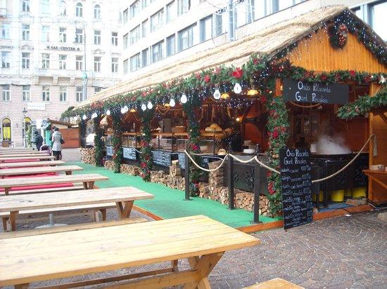 Hotel President Budapest:                   christmas market