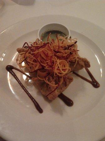 The Tree Hotel at Iffley:                   Vegetable samosas