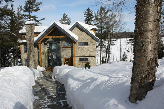 Bed and Breakfast Gordon Harrison : Pine Point in January, a winter paradise!