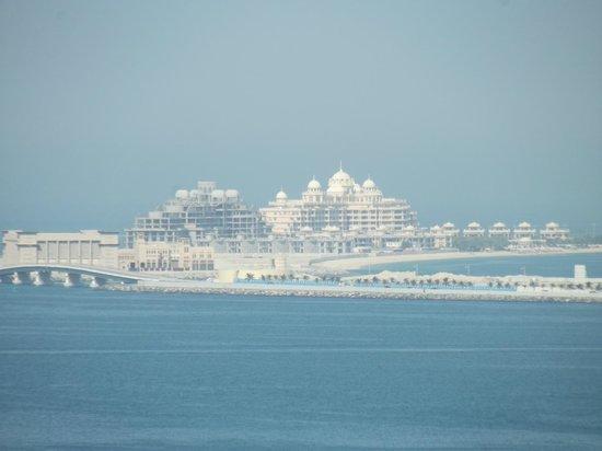JA Ocean View Hotel :                   View of Atlantis from balcony