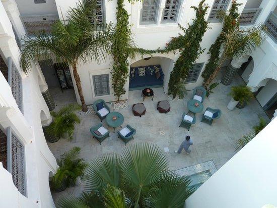 Riad Idra:                   Innenhof
