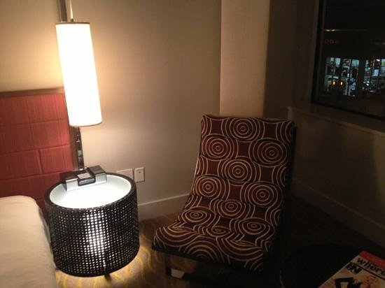 Kimpton Ink48: lounge area in my room