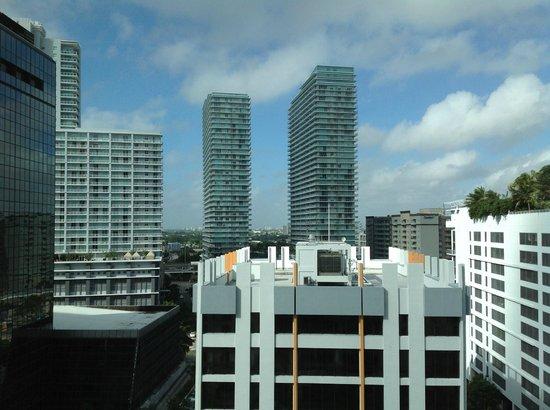 JW Marriott Miami: Vista desde mi habitación, la 1211