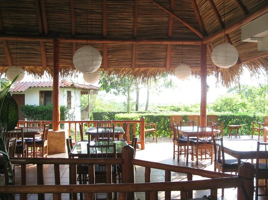 Lodge Las Ranas: Breakfast area