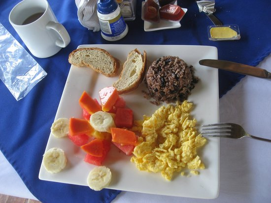 Lodge Las Ranas: YUMMY Breakfast
