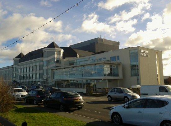 Venue Cymru exterior view