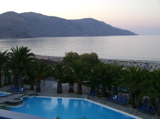 Mare Monte Beach Hotel:                   Vue de ma chambre