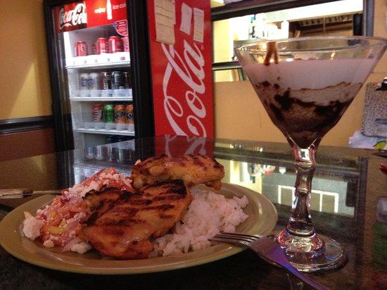 Sibarita:                   Tres leches martini
